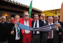 V Aniversario de la peña de Dinamarca del Málaga c.f en Da Bruno / Da Bruno Mijas-Costa ha acogido el acto de la celebración del quinto Aniversario de la Peña malaguista de Dinamarca, un encuentro multitudinario que ha reunido a más de 100 peñistas, y que se ha convertido en la primera peña oficial de origen danés del Málaga Club de Fútbol.