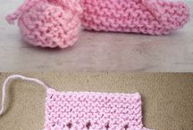 knitting booties