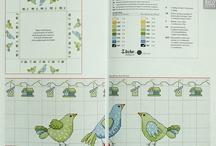 Cross Stitch / Birds