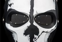 Airsoft Masks / Collection of the coolest, craziest and most badass Masks for Airsoft