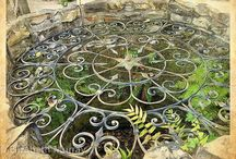 Fountains, Wishing Wells and water in the Garden