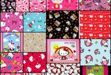 Hello Kitty! / Fabric with Hello Kitty