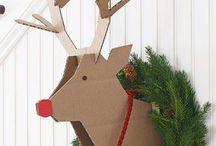 Bricolaje de decoraciones de navidad