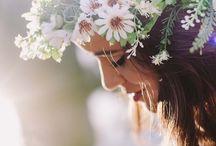 Floral e branco