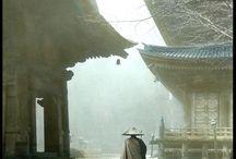 temple ,shrine ,castel ,monk
