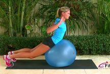 exercices avec ballon