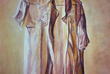 My own paintings / Old Lock / wartercolor / Joke van der klink