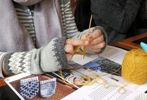Amy's Notebook / Inspiration: gorgeous texture, color stories, knitwear I love.