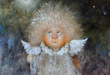 Солнечные ангелы Галины Чувиляевой