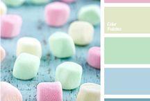 color palette 50's