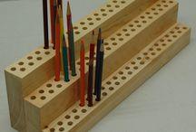 pencil display
