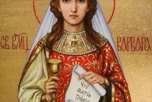 Ikona - Św. Barbara