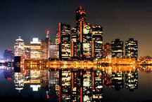 "Detroit / Born and raise in the city, its still a ""come back"" city / by Diane Horne"