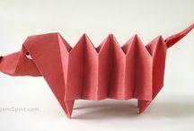 Tutorial per origami
