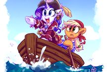 my little pony pirate