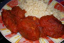 recipes with meat and chicken / greek traditional food
