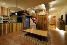 "Renovation_Re.016 / LSD design co., ltd.""Renovation Re.016""_2003_renovating_Okinawa, Japan_interior design_Old material_oldwood_DIY_old homes_ideas_surf_style_hawaii_surf interior"