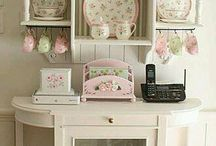 MOBLES VINTAGE SHABBY CHIC