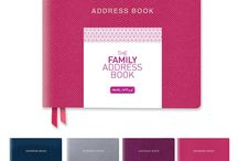 The FAMILY Address Book / The FAMILY Address Book is for people who know lots of families.  It is designed to give you space to record details about your friends' families including all the children's names, birthdays and mobile numbers.