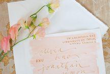 botanical wedding stationery