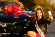 Miss North Carolina USA / We're thrilled to be the official automotive sponsor for Miss North Carolina USA Allie Dunn! We recently handed her the keys to a BMW 328i from Century BMW. Check out the photos below and follow Allie as she hits the open roads in her Ultimate Driving Machine!