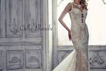 Illusion Neckline Bridal Gowns
