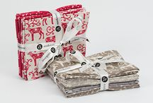 The Scandi Christmas Collection / Fabric collection designed by Makower UK.