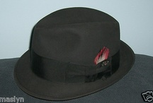 Royal Coachman Dobbs- Vintage Fedora Hat-Charcoal Grey- So Cool