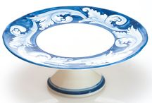 Elena Collection / Elena dinnerware pattern showcases the talents of skilled Portuguese artisans who have long been known for their use of the various shades of blue used in this acanthus leaf design. Dishwasher and microwave safe.