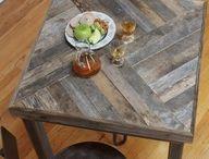 Proyectos que intentar / muebles de madera reciclada / by roberto carrillo perez
