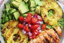 Salads / Salad, food, dinner, Heathy, diet