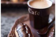 Café com tudo!