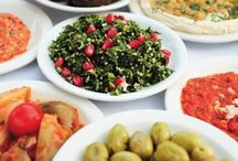 Mediterranean food / Beautiful food from cultures of the Mediterranean  / by Tabarka Studio