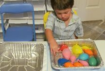 Sensory Table Ideas / by Rabbit Track Day Care - Emily Pryer
