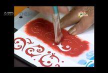 tintas y pintura y colores