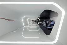 exhibition stand futuristic