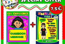 EVELINA'S ESL TEACHING PACKS # SPECIAL OFFERS / SAVE TIME... AND MONEY!! RESOURCES AVAILABLE HERE: http://eslchallenge.weebly.com/packs.html