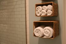 Bathroom ideas / by Whitney Berg-Brown