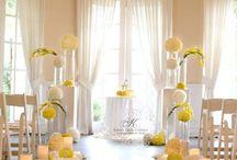 Sárga esküvők / Ha a sárga lesz domináns az esküvődön, itt találsz tippeket! If yellow color will be dominant at your wedding, here you find some ideas!