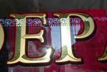 REVERSE GLASS GILDING