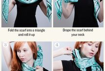 lenços e cachecóis