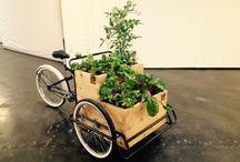 MinifarmBike / You can grow an organic garden anywhere.