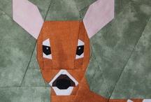 Animales, patchwork