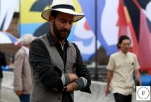 PITTI UOMO 90 / FINAEST.COM is back at Pitti Uomo 90 for the Spring/Summer 2017 collections' presentation, and the talented Miguel Vieira of Beyond Fabric is shooting the street style outside and inside the event.
