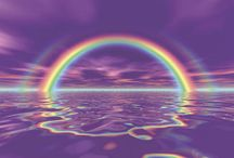 """Rainbows / """"one of the most spectacular light shows observed on earth."""""""