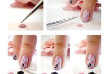 Nail Art photo. Tutoriel.