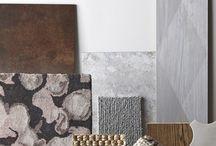 DESIGN BOARDS / Finish boards, colour palettes, Interior Design