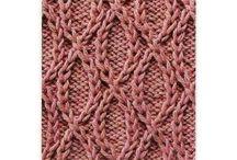 na drutach.  вязание