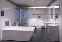 Badkamer ideeën / Beetje brainstormen voor onze nieuwe badkamer.