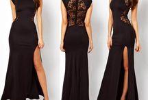 Black Dress / Pictures of beautiful black dresses.